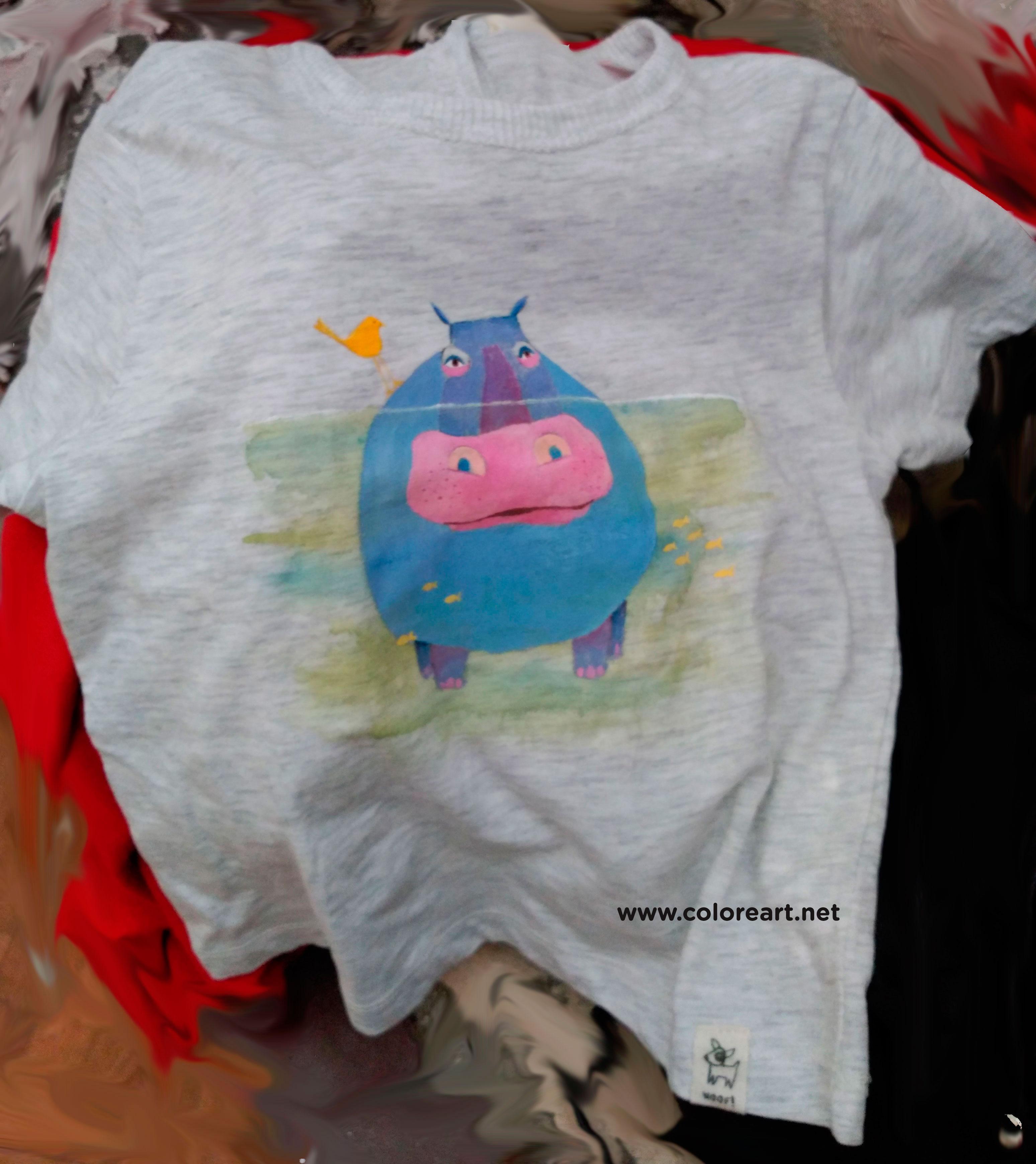 Tutorial para pintar camisetas talleres artisticos coloreart - Pintar camisetas ninos ...