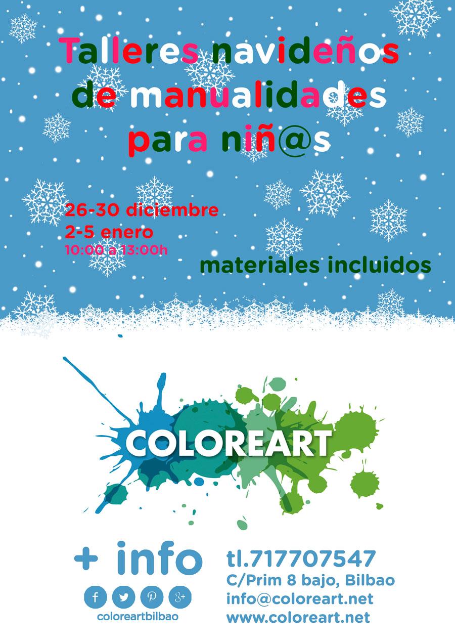 Talleres de manualidades para ni os navidad 2016 for Manualidades de navidad 2016