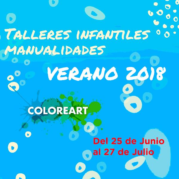 minicartel actividades para niños verano 2018