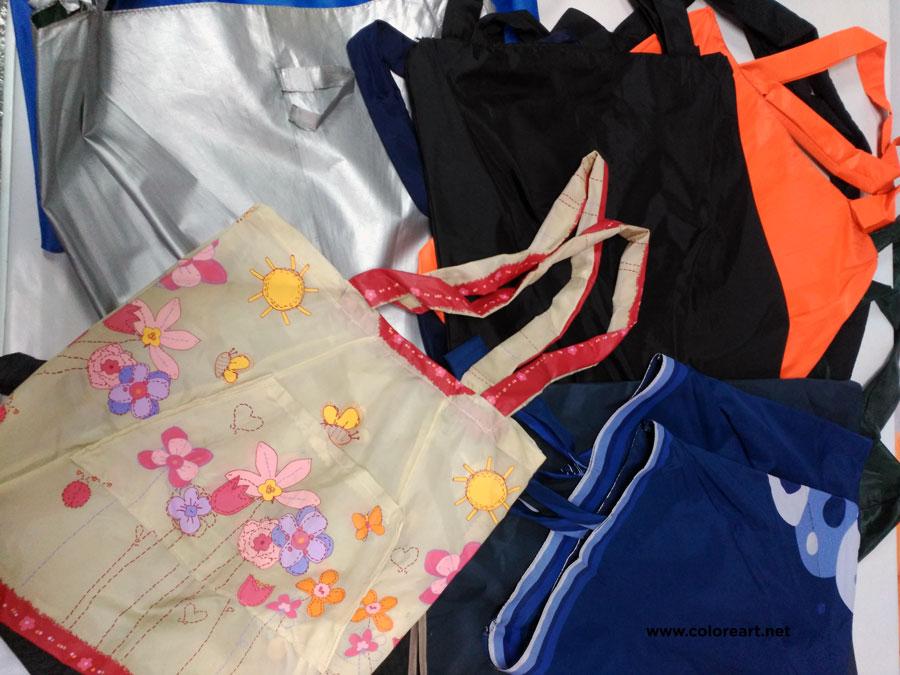 bolsas recicladas de paraguas